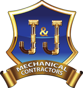 J and J Mechanical Contractors Logo